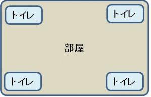 トイレ図003